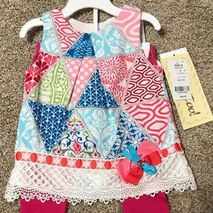 Beautiful Spring Outfit Size 24M NWT